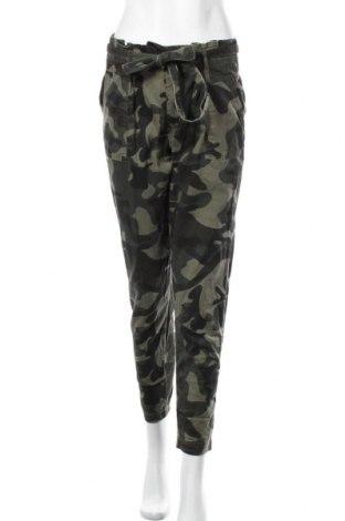 Дамски панталон Ardene, Размер S, Цвят Зелен, 98% памук, 2% еластан, Цена 24,57лв.