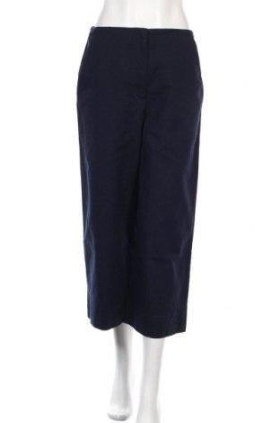 Дамски панталон COS, Размер S, Цвят Син, 97% памук, 3% еластан, Цена 48,00лв.