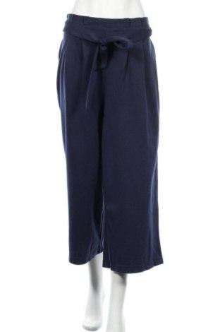 Дамски панталон Essentials by Tchibo, Размер XL, Цвят Син, 56% полиестер, 41% памук, Цена 15,12лв.