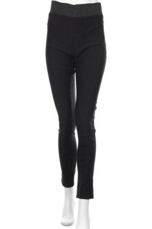 Дамски панталон Free Quent, Размер XXL, Цвят Черен, 76% вискоза, 21% полиамид, 3% еластан, Цена 25,52лв.