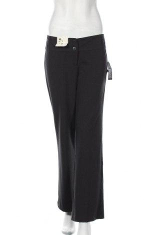 Дамски панталон Hot Options, Размер M, Цвят Сив, Полиестер, вискоза, еластан, Цена 11,03лв.