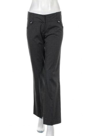 Дамски панталон Hot Options, Размер M, Цвят Черен, Полиестер, вискоза, еластан, Цена 16,38лв.