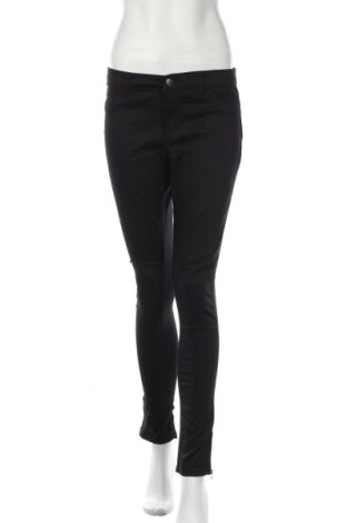 Дамски панталон Hot Options, Размер M, Цвят Черен, Памук, полиестер, еластан, Цена 7,35лв.