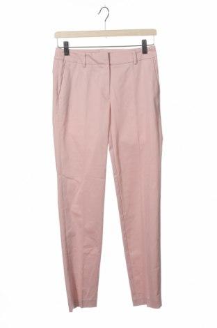 Дамски панталон Montego, Размер XS, Цвят Розов, 98% памук, 2% еластан, Цена 22,04лв.