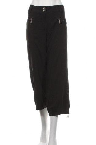 Дамски панталон Ofelia, Размер L, Цвят Черен, 76% полиестер, 19% вискоза, 5% еластан, Цена 9,35лв.