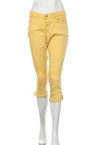 Dámské kalhoty  S.Oliver, Velikost L, Barva Žlutá, 97% bavlna, 3% elastan, Cena  440,00Kč