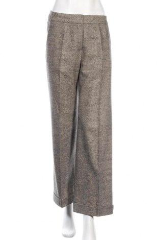 Дамски панталон Sportmax, Размер L, Цвят Многоцветен, 88% вълна, 10% коприна, 2% еластан, Цена 64,00лв.
