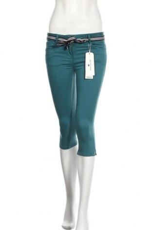 Γυναικείο παντελόνι Tom Tailor, Μέγεθος S, Χρώμα Πράσινο, 97% βαμβάκι, 3% ελαστάνη, Τιμή 6,52€