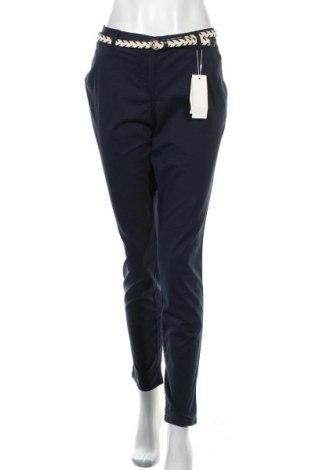 Γυναικείο παντελόνι Tom Tailor, Μέγεθος M, Χρώμα Μπλέ, 98% βαμβάκι, 2% ελαστάνη, Τιμή 13,76€
