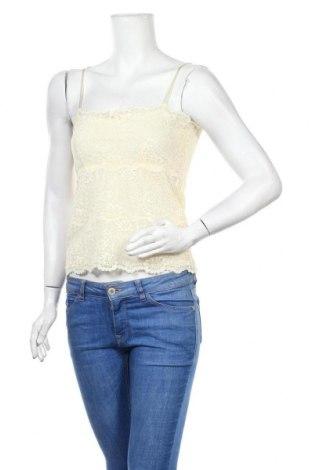 Γυναικείο αμάνικο μπλουζάκι Banana Republic, Μέγεθος M, Χρώμα  Μπέζ, 50% πολυαμίδη, 30% βισκόζη, 20% ελαστάνη, Τιμή 6,82€