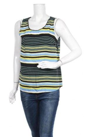 Γυναικείο αμάνικο μπλουζάκι Tom Tailor, Μέγεθος M, Χρώμα Πολύχρωμο, Βισκόζη, Τιμή 4,33€