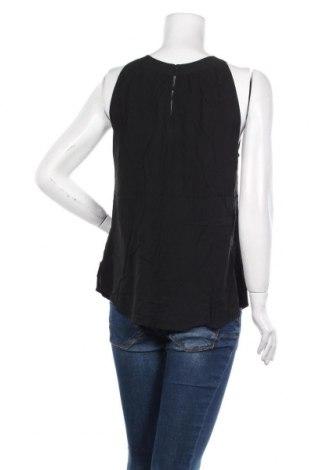 Γυναικείο αμάνικο μπλουζάκι Tom Tailor, Μέγεθος M, Χρώμα Μαύρο, Βισκόζη, Τιμή 10,10€