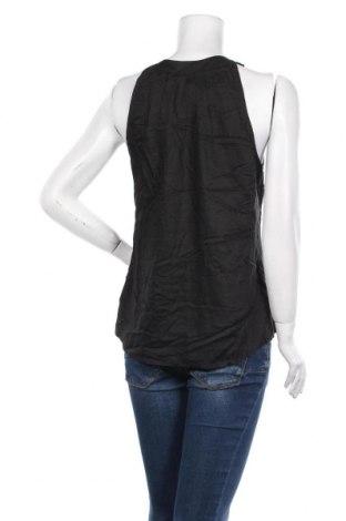 Γυναικείο αμάνικο μπλουζάκι Tom Tailor, Μέγεθος M, Χρώμα Μαύρο, Βισκόζη, Τιμή 7,24€