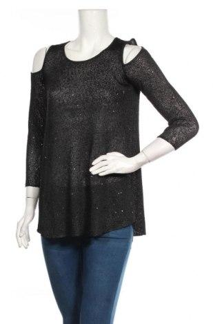 Дамски пуловер Alfani, Размер S, Цвят Черен, Полиестер, Цена 7,35лв.