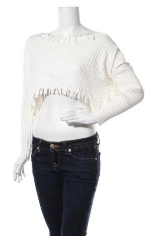 Дамски пуловер Ally, Размер M, Цвят Екрю, 75% вискоза, 25% полиамид, Цена 11,34лв.