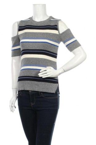 Дамски пуловер Amaryllis, Размер L, Цвят Многоцветен, 50% памук, 42% акрил, 6% вискоза, 1% полиестер, 1% други материали, Цена 21,95лв.