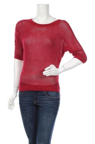 Дамски пуловер Express, Размер XS, Цвят Червен, Вискоза, Цена 16,54лв.