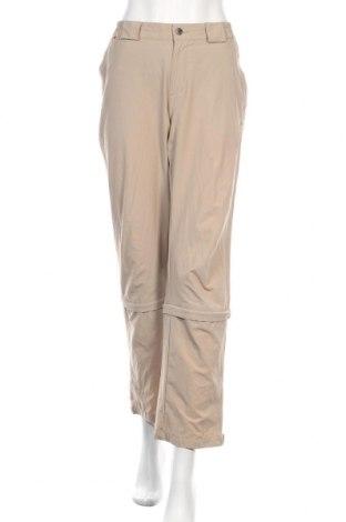 Дамски спортен панталон Vaude, Размер M, Цвят Бежов, 97% полиамид, 3% еластан, Цена 12,40лв.