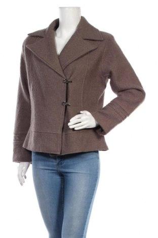 Дамско палто Aglini, Размер XS, Цвят Кафяв, 36% вълна, 35% акрил, 22% полиестер, 7% коприна, Цена 71,92лв.