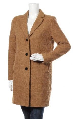 Дамско палто Christian Berg, Размер M, Цвят Кафяв, 31% памук, 28% полиестер, 20% полиакрил, 17% вълна, 4% други нишки, Цена 119,07лв.