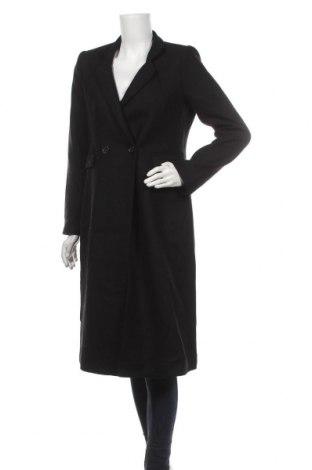 Дамско палто Ivy & Oak, Размер S, Цвят Черен, 75% вълна, 25% полиамид, Цена 205,97лв.