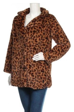 Дамско палто SHEIN, Размер S, Цвят Кафяв, Полиестер, Цена 32,13лв.