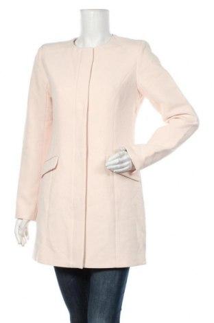 Dámský kabát  Vila, Velikost S, Barva Růžová, 76% polyester, 20% viskóza, 4% elastan, Cena  968,00Kč