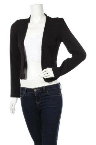 Дамско сако Ally, Размер M, Цвят Черен, 95% полиестер, 5% еластан, Цена 18,11лв.