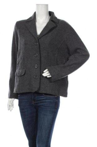 Дамско сако Atelier GARDEUR, Размер XL, Цвят Сив, Вълна, Цена 19,32лв.