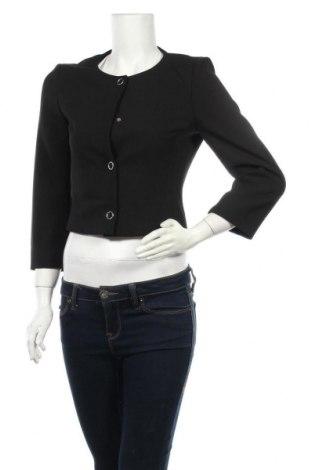 Дамско сако Hugo Boss, Размер S, Цвят Черен, 61% полиестер, 26% вискоза, 7% памук, 6% еластан, Цена 141,75лв.