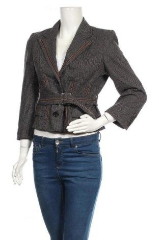 Дамско сако Karen Millen, Размер M, Цвят Сив, 72% вълна, 27% полиамид, 1% еластан, Цена 17,06лв.