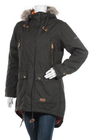 Дамско спортно яке Trespass, Размер L, Цвят Зелен, Полиестер, Цена 76,00лв.