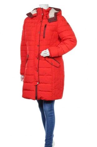 Дамско яке Tom Tailor, Размер XXL, Цвят Червен, Полиестер, Цена 98,55лв.
