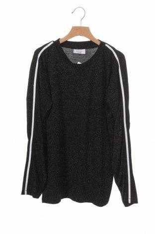 Παιδική μπλούζα D-Xel, Μέγεθος 13-14y/ 164-168 εκ., Χρώμα Μαύρο, 60% βισκόζη, 36% μεταλλικά νήματα, 4% ελαστάνη, Τιμή 3,86€