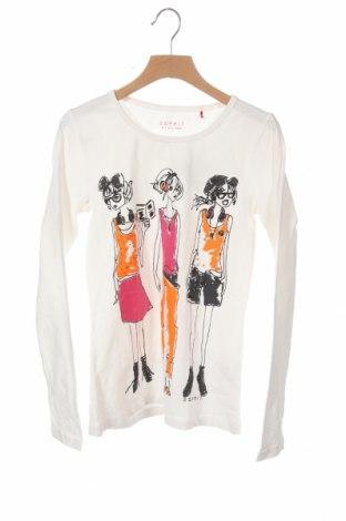 Παιδική μπλούζα Esprit, Μέγεθος 10-11y/ 146-152 εκ., Χρώμα Λευκό, 94% βαμβάκι, 6% ελαστάνη, Τιμή 8,83€