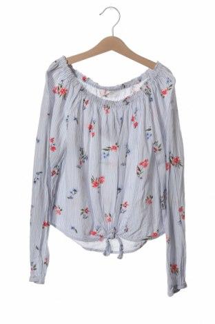 Dziecięca bluzka H&M, Rozmiar 13-14y/ 164-168 cm, Kolor Biały, Wiskoza, Cena 36,30zł