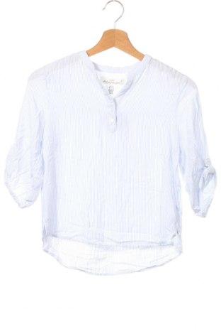 Детска блуза H&M L.O.G.G., Размер 12-13y/ 158-164 см, Цвят Бял, Вискоза, Цена 4,73лв.