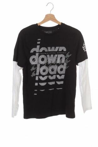 Παιδική μπλούζα Here+There, Μέγεθος 12-13y/ 158-164 εκ., Χρώμα Μαύρο, Βαμβάκι, Τιμή 13,51€