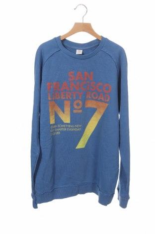 Παιδική μπλούζα S.Oliver, Μέγεθος 15-18y/ 170-176 εκ., Χρώμα Μπλέ, 90% βαμβάκι, 10% πολυεστέρας, Τιμή 9,87€