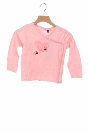 Детска блуза Tom Tailor, Размер 18-24m/ 86-98 см, Цвят Розов, Памук, Цена 8,97лв.