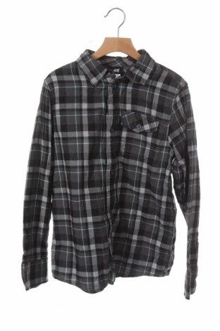 Παιδικό πουκάμισο H&M, Μέγεθος 11-12y/ 152-158 εκ., Χρώμα Πολύχρωμο, Βαμβάκι, Τιμή 5,45€