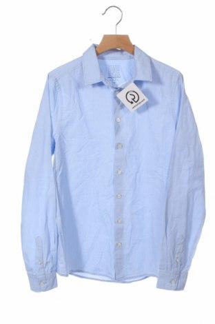 Παιδικό πουκάμισο Here+There, Μέγεθος 11-12y/ 152-158 εκ., Χρώμα Μπλέ, Βαμβάκι, Τιμή 7,40€