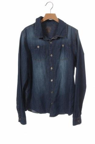 Παιδικό πουκάμισο Tchibo, Μέγεθος 15-18y/ 170-176 εκ., Χρώμα Μπλέ, Βαμβάκι, Τιμή 8,31€