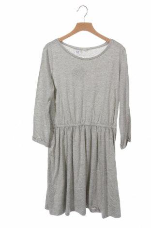 Детска рокля Gap Kids, Размер 11-12y/ 152-158 см, Цвят Сив, Памук, Цена 7,61лв.