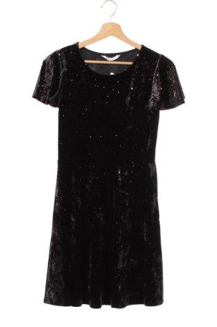 Παιδικό φόρεμα H&M, Μέγεθος 12-13y/ 158-164 εκ., Χρώμα Μαύρο, 90% πολυεστέρας, 10% ελαστάνη, Τιμή 12,47€