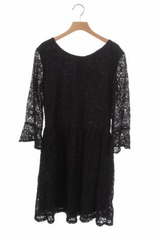 Детска рокля H&M, Размер 14-15y/ 168-170 см, Цвят Черен, 57% полиамид, 43% памук, Цена 5,78лв.