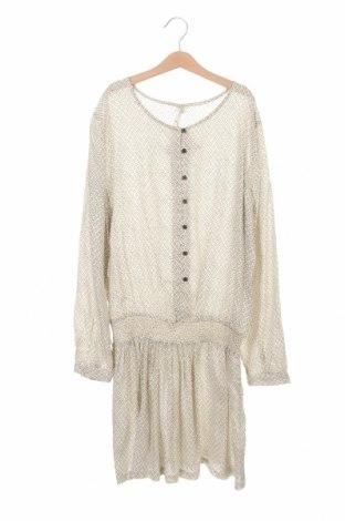 Детска рокля Next, Размер 12-13y/ 158-164 см, Цвят Бежов, Вискоза, Цена 7,09лв.