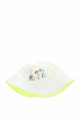 Παιδικό καπέλο Tommy Hilfiger, Μέγεθος 6-8, Χρώμα Λευκό, Βαμβάκι, Τιμή 9,64€