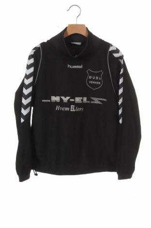 Детска спортна блуза Hummel, Размер 8-9y/ 134-140 см, Цвят Черен, Полиестер, Цена 5,78лв.