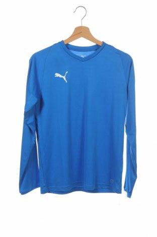Παιδική μπλούζα αθλητική PUMA, Μέγεθος 13-14y/ 164-168 εκ., Χρώμα Μπλέ, Πολυεστέρας, Τιμή 12,47€